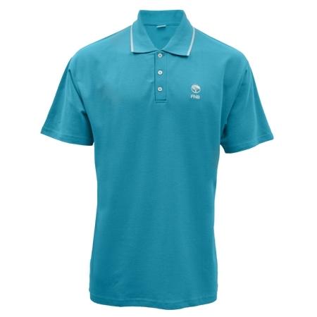 Fnb shop men 39 s fnb turquoise pique knit golf shirt for Name brand golf shirts